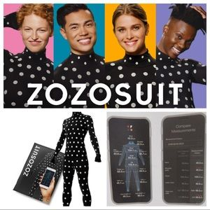 ZOZOSUIT Body Measurement Weight Tracking Suit NIP